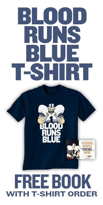 Blood Runs Blue T-shirt Offer